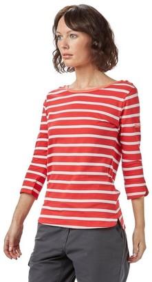 Regatta Women's Prairie Travel Casual T-Shirt Orange 10
