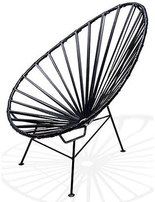 Mexa Acapulco Lounge Chair - Black Leather