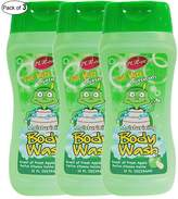 Purest Kids Moisturizing Body Wash With Scent Of Fresh Apple(354ml) (Pack of 3)