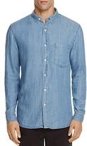 Rails Denim Vintage Wash Slim Fit Button-Down Shirt