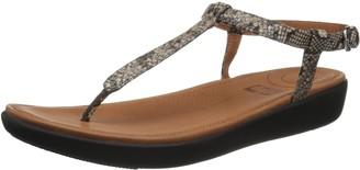 FitFlop Women's TIA Toe-Thong Sandals Flat