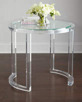 Interlude Abella Acrylic Entry Table