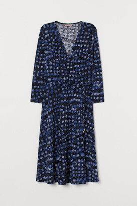 H&M V-neck wrap dress