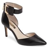 Louise et Cie Women's Keene Ankle Strap D'Orsay Pump