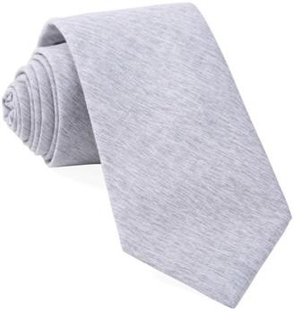 Tie Bar Sunset Solid Grey Tie