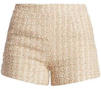 L'Agence Ashton Tweed Shorts