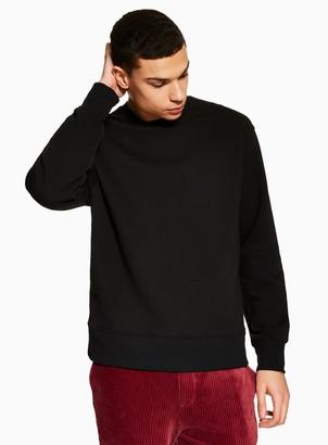 Topman Black Sweatshirt