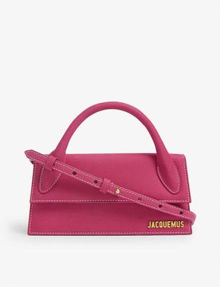 Jacquemus Le Chiquito Long leather top handle bag