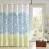 Asstd National Brand 90 by Design Lab Naomi Shower Curtain and Hook Set