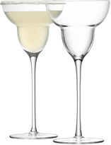 LSA International Bar Margarita Glass 250ml Set of 2 - Clear