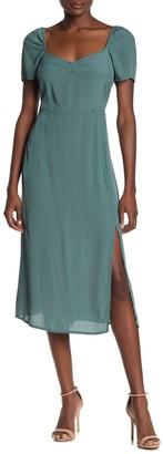 Cotton On Front Slit Midi Dress