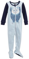 Tea Collection Infant Boy's Uilebheist Fitted One-Piece Pajamas