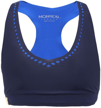 Monreal London Laser-cut Stretch Sports Bra