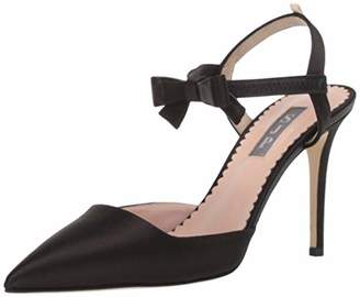 Sarah Jessica Parker Women's Pola Pointed Toe Bow Strap Pump 40.5 M EU ( US)