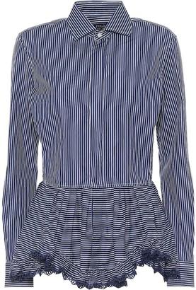 Polo Ralph Lauren Striped cotton blouse