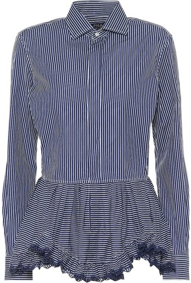 Polo Ralph Lauren Striped cotton blouse