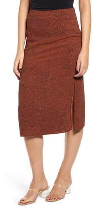 MinkPink Wild Cat Midi Skirt