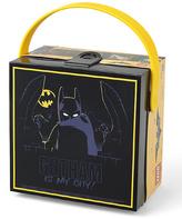 Black LEGO Batman Handle Lunch Box