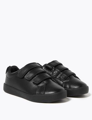 Marks and Spencer Kids' Leather Freshfeet Trainers (8 Small - 1 Large)
