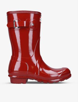 Hunter Original short rubber wellington boots