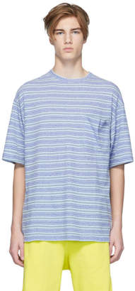 Name Blue Stripe Pocket T-Shirt