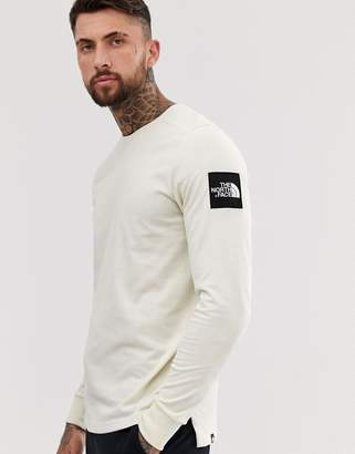 The North Face Fine 2 long sleeve in white