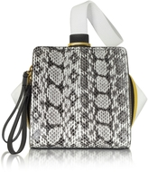 Vionnet Multicolor Leather and Ayers Cube Clutch