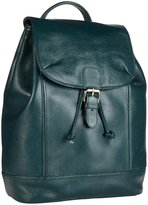 Zenith Leather Backpack (Women) - Forest