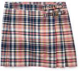 Ralph Lauren Pleated Madras Skirt