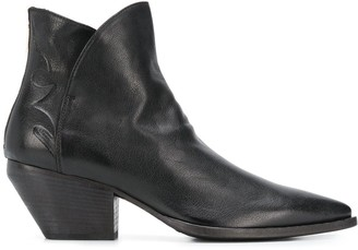 Officine Creative Arielle pointed toe boots