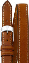Michele 18mm Double-Wrap Leather Strap