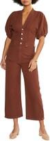 Thumbnail for your product : ÉTICA Celeste Wide-Leg Jumpsuit