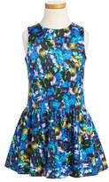 Milly Minis Toddler Girl's Jewel Print Drop Waist Dress