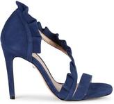 Schutz Aime Suede d'Orsay High-Heel Sandals