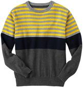 Gap Colorblock striped sweater