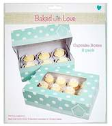 Baked With Love 6 Cup Cake Or 12 Fairy Cake Boxes 12 per pack
