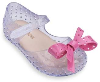 Mini Melissa Baby's, Little Girl's & Girl's Perforated Bow Mary-Jane Flats