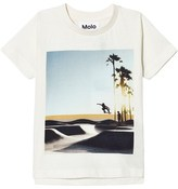 Molo White Cloud Read T-Shirt