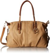 MG Collection Acacia Oversize Shopper Shoulder Bag