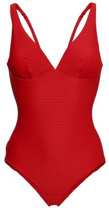 Jets Disposition Ribbed Underwired Swimsuit