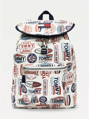 Tommy Hilfiger Logo Print Backpack