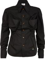Vivienne Westwood Fire Shirt Black Size 38