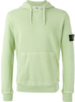 Stone Island kangaroo pocket hoodie - men - Cotton - S