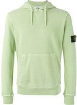 Stone Island kangaroo pocket hoodie - men - Cotton - XXL