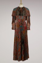 Etro Long pleated dress