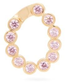Hillier Bartley Crystal-embellished Charm - Pink