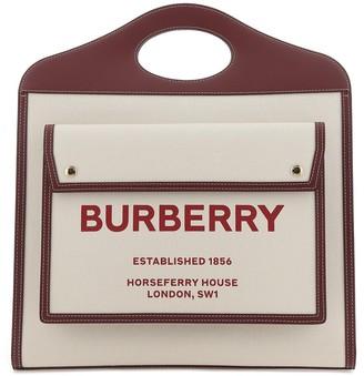 Burberry Medium Pocket Tote Bag