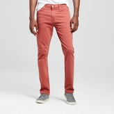 Mossimo Men's Slim Fit Dye Red Wash Jeans