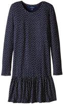 Polo Ralph Lauren Modal Jersey Floral Dress (Little Kids/Big Kids)