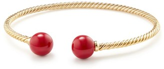 David Yurman Bead Bracelet with Gemstone in 18K Yellow Gold